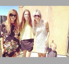 Gemma, Lou, Lux and a fan(: