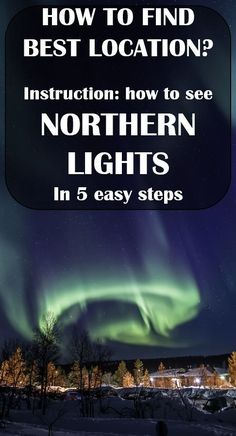 How to find the best location to see the lights? See the guide. The shot was done in Inari, Finland. Europe Destinations, Europe Travel Tips, European Travel, Travel Advice, Travel Guides, Euro Travel, Travel Jobs, Travel Stuff, Cool Places To Visit