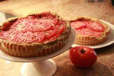Fresh Tomato Tart from Diana's Kitchen