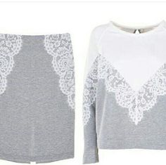 Might be cute and comfortable if it didn't look cheap. Knitwear Fashion, Hijab Fashion, Diy Fashion, Love Fashion, Fashion Outfits, Womens Fashion, Sport Outfits, Kids Outfits, Pijamas Women