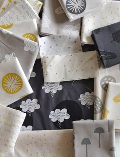 maze & vale fabrics and can't wait for the handmade fabric swap III, end of feb for sign ups, woo hoo