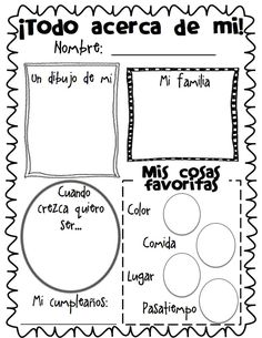 Todo Acerca de Mi Blank.pdf Good for beginning of the year: