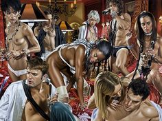 Terry Rodgers-Variable Frequencies of Restraint New Jersey, Black Pin Up, Sensual Seduction, Creators Project, Realism Art, Pulp Fiction, Art Auction, Erotic Art, Film