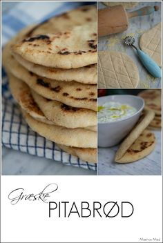 Recipe for easy flatbread Birthday Dinners, Grilling, Recipies, Good Food, Food And Drink, Menu, Ethnic Recipes, Easy, Scones