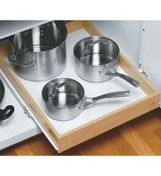 Wood Roll-Out Cabinet Shelf - 22 Inch Depth Image   Sale: $59.99 - $72.99