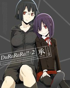 Durarara!!x2 Shou DVD Cover vol 5