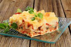 Lasagna diet de berenjenas