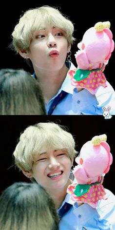 Taetae's smile lights up the entire universe.