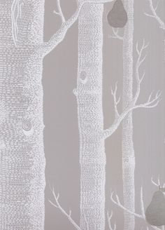 Woods and Pears wallpaper from Cole and Son