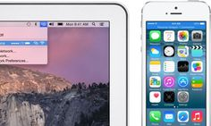 The iPhone now connects better to Mac and iPad in iOS 8.