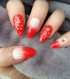 Absolutely Gorgeous Ombre Pointy Nail Designs