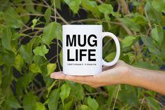 Mug Life I Didn't Choose It It Chose Me by RobbyandDeeStudio