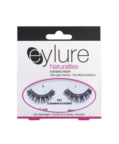 Eyelure Lashes - go for 101 for a natural look!