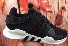 Adidas Equipment Running Support 93 Black White - Adidas