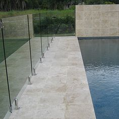 Travertine Tile Pool Delectable Add A Touch Of Luxury To Your Pool Surrounds With Travertine Tiles