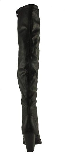 14717e01ebe Forever Women s Camila-48 Chunky Heel Lace up Over The Knee Riding Boots      Read more reviews of the product by visiting the link on the image.