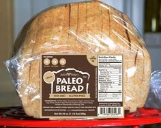 Paleo Bread™ -Almond (1 Impact Carb)  They have 2 different paleo breads. I just looked and my healthfood store sells this brand. Il have to see if they carry this one or if thy can order it!