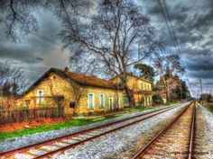 Old Railway Station, Aeginio Pieria, North Greece