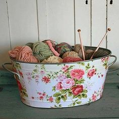**Country Charm** I'm going to do this to one of my tins for firewood