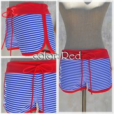 ◆◆New Arrival◆◆Swim Surf Pants -color: Red- #naturaleeza #surffashion
