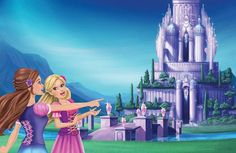 Ulkutay Creative - Cartoon Pictures Of Barbie And The Diamond Castle Disney Pixar, Disney Animation, Barbie Costume, Barbie Dolls, Barbie Princess, Princess Zelda, Barbie Drawing, Barbie Fairytopia, Barbie Cartoon