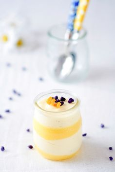 Meyer Lemon Curd and Chamomille Vanilla Mousse | 27 Gorgeous Lemon Desserts To Soothe Your Winter Blues