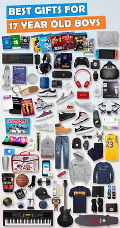 See Over 680 Gifts For 17 Year Old Boys Birthdays And Christmas Tons Of