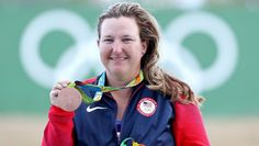 Bronze. Kim Rhode's sixth Olympic medal her most impressive yet.