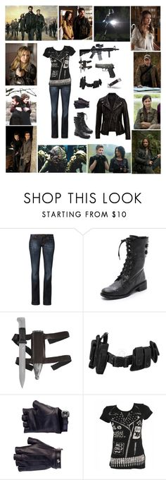 """Falling Skies"" by sammie2244 ❤ liked on Polyvore featuring Episode, CROSS Jeanswear, Sam Edelman, POLICE, Les Cinq, Abbey Dawn and SELECTED"