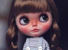 Reserve for Peace-Franny - Penguinbabydoll's OOAK Custom Blythe Doll