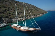 Zephyria II, luxe zeiljacht cruiser met schipper en bemanning vanuit Bodrum, Turkije.