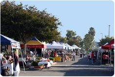Farmers Market  When: Wednesdays from 8:00 a.m.-1:00 p.m Where: Independence Park, 801 W. Valencia Drive