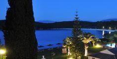 Corfu Hotel Bella Mare at night