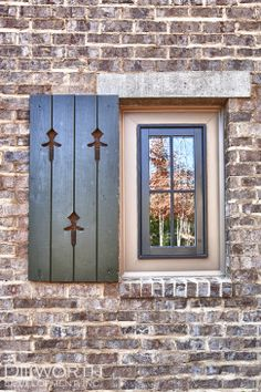 Sunbelt Shutters creates the perfect custom built Board and Batten Shutters for your home's windows. America's choice for custom exterior shutters. Outdoor Shutters, Wood Shutters, Window Shutters, Exterior Shutters, Colonial Exterior, Cottage Exterior, New Orleans Homes, New Homes, Cottage Shutters