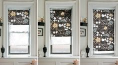 How to hack roller blinds to add the fabric you want.