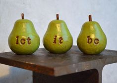 Birthday Christmas gift ... let it be...Three handmade by SkyeArt