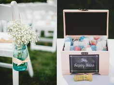So many applications for these flower vases--not just weddings.//Cincinnati Summer Wedding