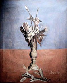 Flowers 1918 - GIORGIO MORANDI 1890-1964 #TuscanyAgriturismoGiratola
