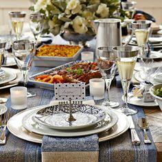 Williams-Sonoma Hanukkah Table