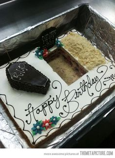 Creepy cake for old friends…@Lauren Davison Davison Davison Falk