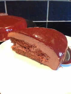 and stir well: Chocolate Mousse Torte Anna Olson, Vegetarian Recipes Easy, My Recipes, Mousse, Pudding, Chocolate, Cooking, Desserts, Food