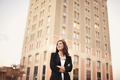 outdoor business headshots for professionals