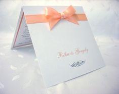 Szalagos esküvői meghívó 48 Place Cards, Place Card Holders, Weddings, Google, Wedding, Marriage