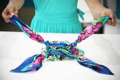 DIY : Transformer votre foulard en sac - Le blog de mes loisirs