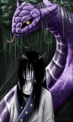 Orochimaru the snake Sannin. Naruto Uzumaki, Anime Naruto, Naruto Boys, Madara Uchiha, Naruto Art, Anime Manga, Naruto Images, Naruto Pictures, Akatsuki