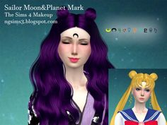 Sailor Moon&Planet Mark at NG Sims3 via Sims 4 Updates