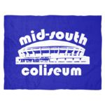 Mid-South Coliseum Throwback Fleece Blanket