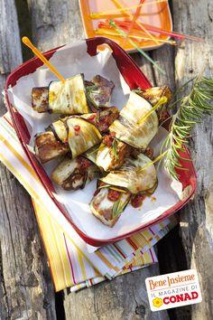 Involtini di #melanzane e halloumi per uno stuzzicante #antipasto... vuoi la #ricetta di Conad Bene Insieme? Clicca sulla foto ;)