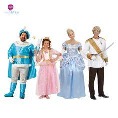#Disfraces grupos #príncipes y #princesas  #Disfraces para grupos y #comparsas descuentos especiales para #grupos.