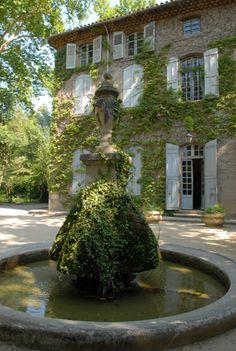 Bastide du Jas de Bouffan, Aix-en-Provence - former home of Paul Cezanne Aix En Provence, Provence France, French Country House, French Farmhouse, Country Life, Country Houses, Farmhouse Interior, French Chateau, French Countryside